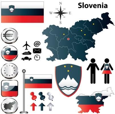Статистическая информация по регионам Словении