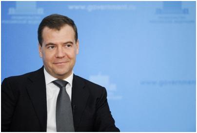Дмитрий Медведев приезжает в Словению