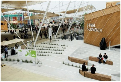 EXPO 2015 in Milan: SLOVENIA LAUNCHED OWN PAVILION