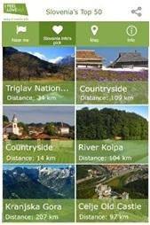 Мобильное приложение Slovenia's Top 50