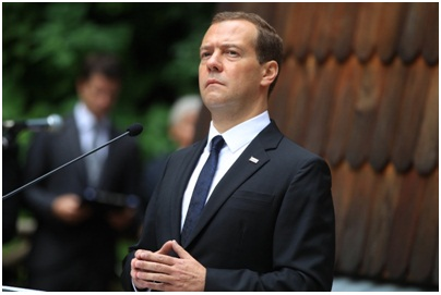 Первый визит Медведева в ЕС после введения санкций