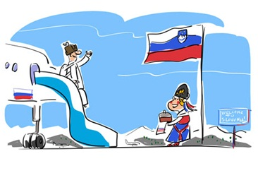 Republic of Slovenia and Russia: a positive partnership