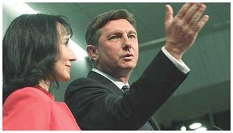 Я подаю вам руку, чтобы вместе показать Словении дорогу вперед.