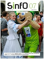 SINFO – SLOVENIAN INFORMATION Monthly magazine brings news from Slovenia on politics, business, culture and sports