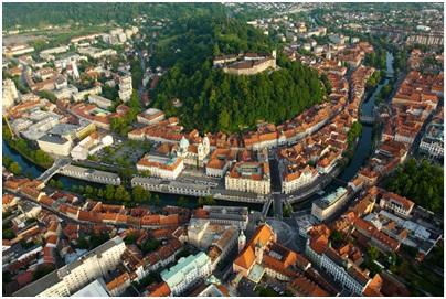 Любляна на 2-м месте среди лучших европейских направлений