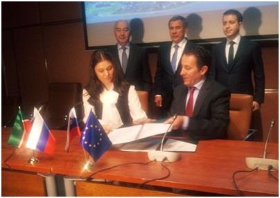 SPIRIT Словения и Агентство инвестиционного развития Республики Татарстан подписали меморандум о сотрудничестве