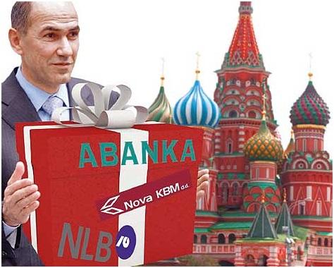 Янша поехал в Россию за Южным потоком и покупателями банков