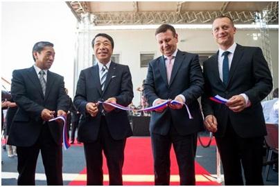 Японский DAIHEN выбрал город Лендава для своей европейской базы