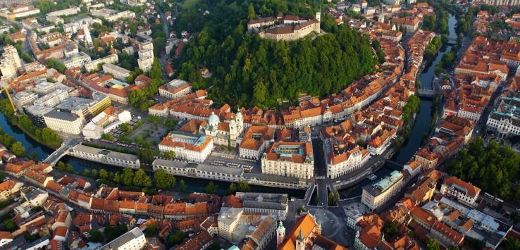 Мансардная квартира в центре Любляны