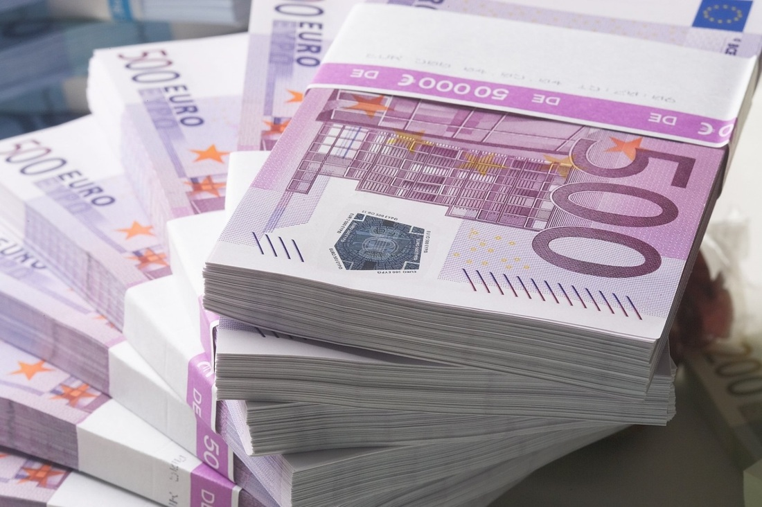 Discontinuation of 500 euro notes